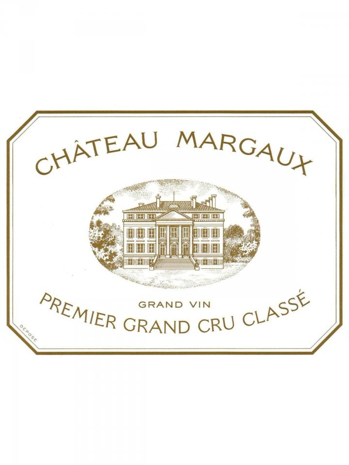 Château Margaux 2015 Original wooden case of 6 bottles (6x75cl)