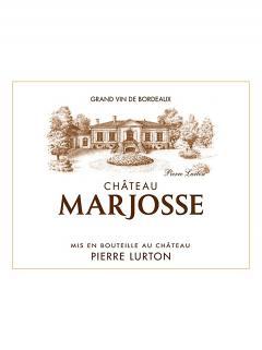 Château Marjosse 2014 12 bottles (12x75cl)