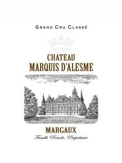 Château Marquis d'Alesme 2018 Original wooden case of 6 bottles (6x75cl)