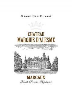 Château Marquis d'Alesme 2015 Original wooden case of 12 bottles (12x75cl)