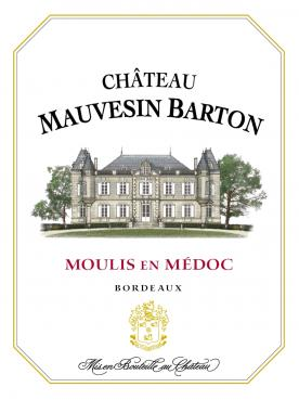 Château Mauvesin Barton 2017 Original wooden case of 6 bottles (6x75cl)