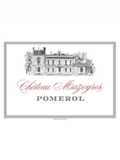 Château Mazeyres 2019 Original wooden case of one double magnum (1x300cl)
