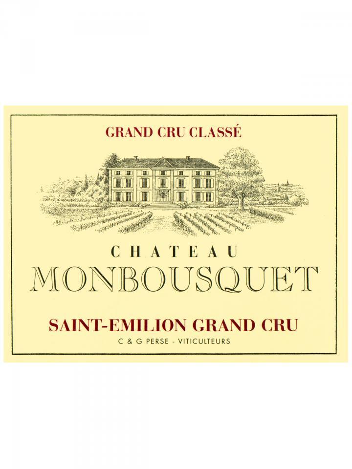 Château Monbousquet 2011 Original wooden case of 6 bottles (6x75cl)