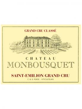 Château Monbousquet 2018 Original wooden case of 6 bottles (6x75cl)