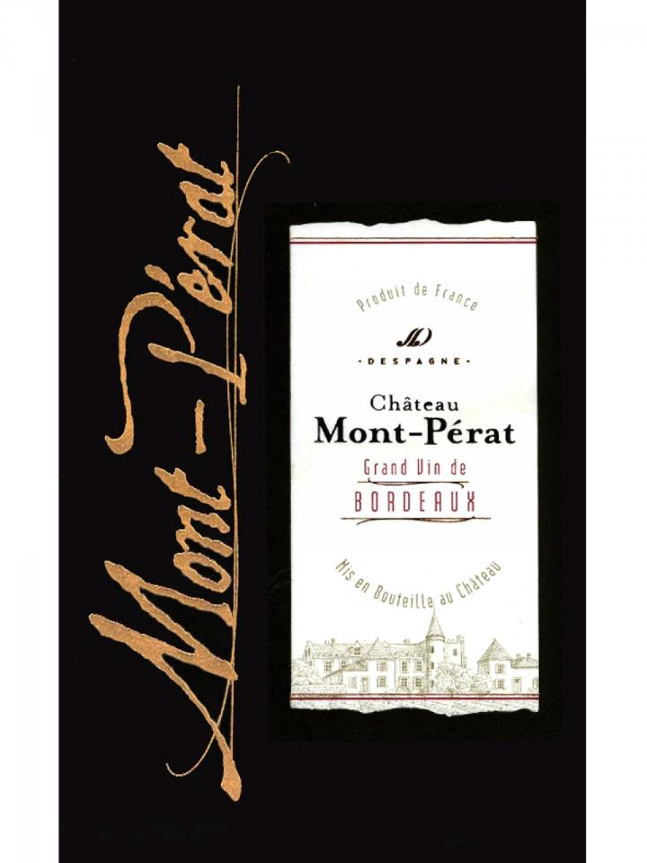 Château Mont-Pérat 2015 Original wooden case of 12 bottles (12x75cl)