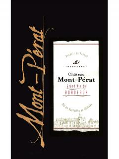Château Mont-Pérat 2013 Original wooden case of 12 bottles (12x75cl)