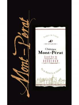 Château Mont-Pérat 2016 Original wooden case of 12 bottles (12x75cl)