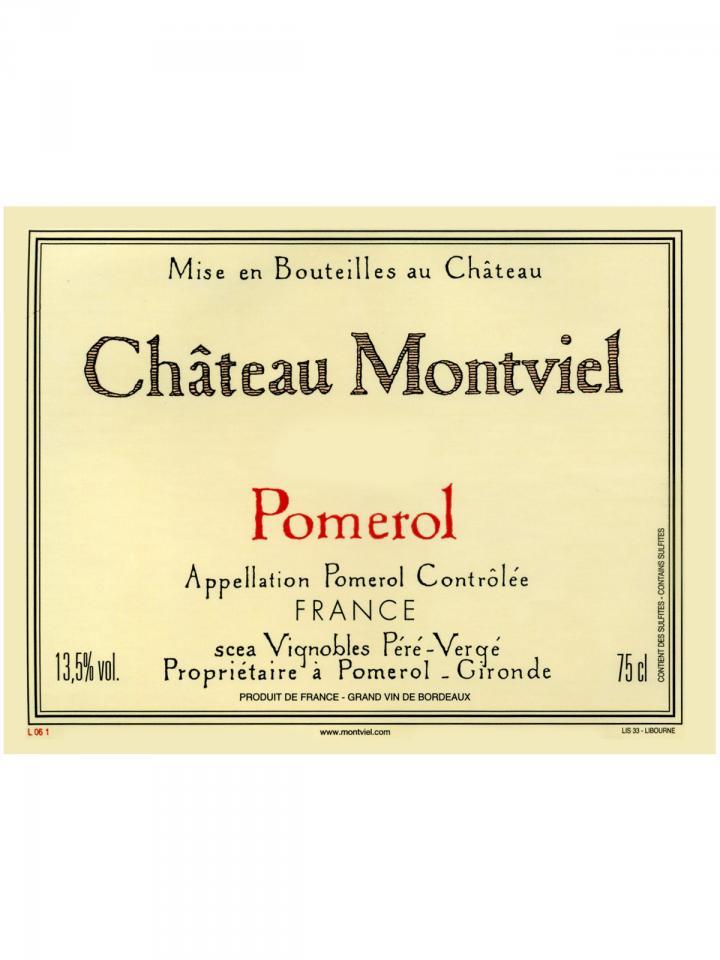 Château Montviel 2018 Original wooden case of 6 bottles (6x75cl)