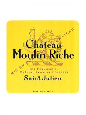 Château Moulin Riche 1993 Original wooden case of 12 bottles (12x75cl)