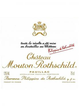 Château Mouton Rothschild 2009 Original wooden case of 3 bottles (3x75cl)