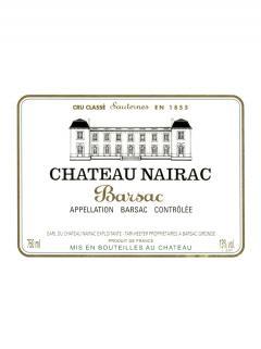 Château Nairac 2009 Original wooden case of 12 bottles (12x75cl)