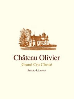 Château Olivier 2017 Original wooden case of 12 bottles (12x75cl)