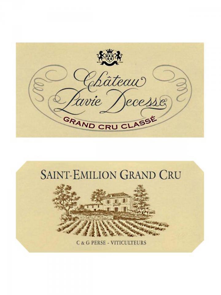 Château Pavie Decesse 2006 Original wooden case of 12 bottles (12x75cl)