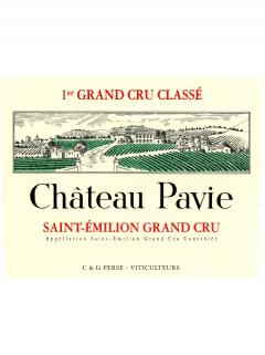 Château Pavie 2013 Original wooden case of 6 bottles (6x75cl)