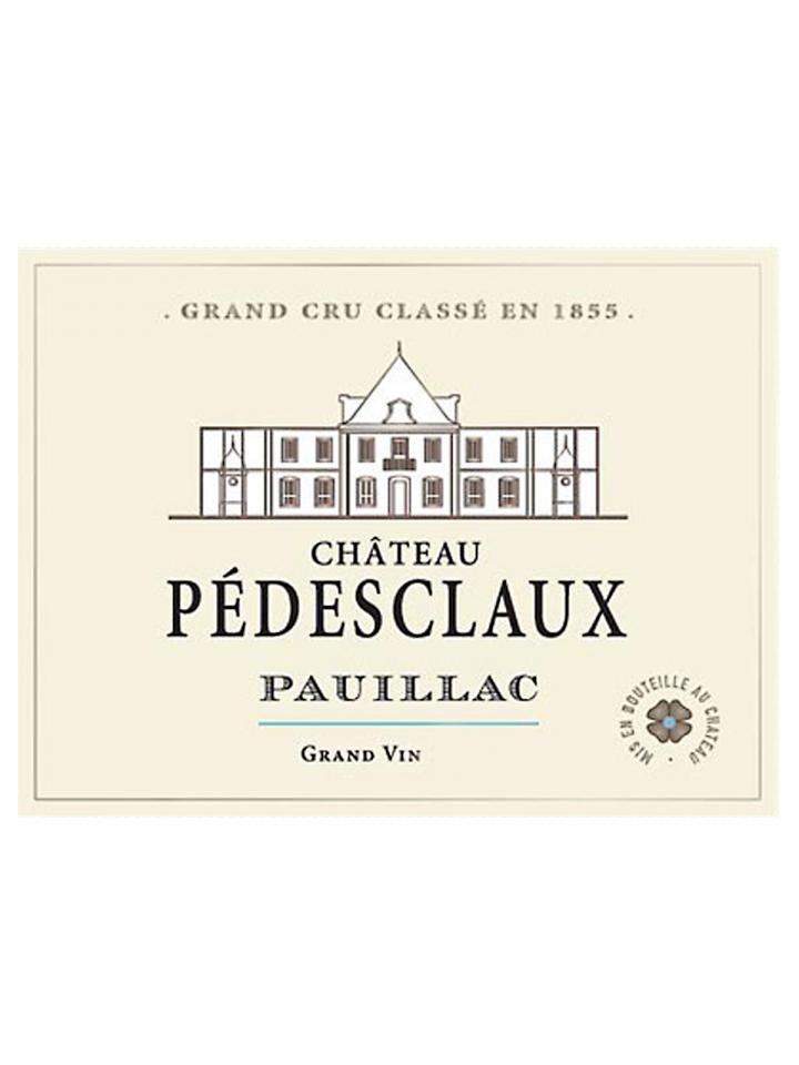 Château Pédesclaux 2015 Original wooden case of 6 bottles (6x75cl)