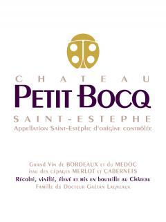 Château Petit Bocq 2016 Original wooden case of 6 bottles (6x75cl)