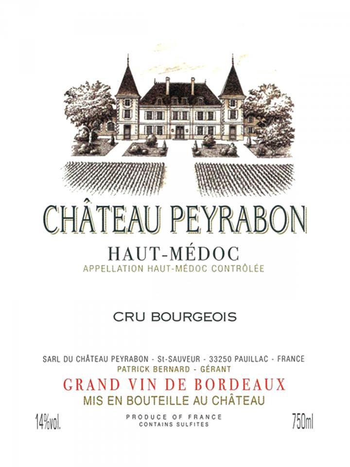 Château Peyrabon 2016 Original wooden case of 6 bottles (6x75cl)