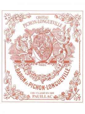 Château Pichon-Longueville Baron 2015 Original wooden case of 12 bottles (12x75cl)