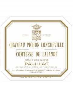 Château Pichon-Longueville Comtesse de Lalande 2003 Original wooden case of 12 bottles (12x75cl)