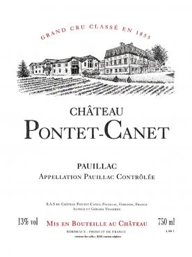 Château Pontet-Canet 1982 Original wooden case of 12 bottles (12x75cl)