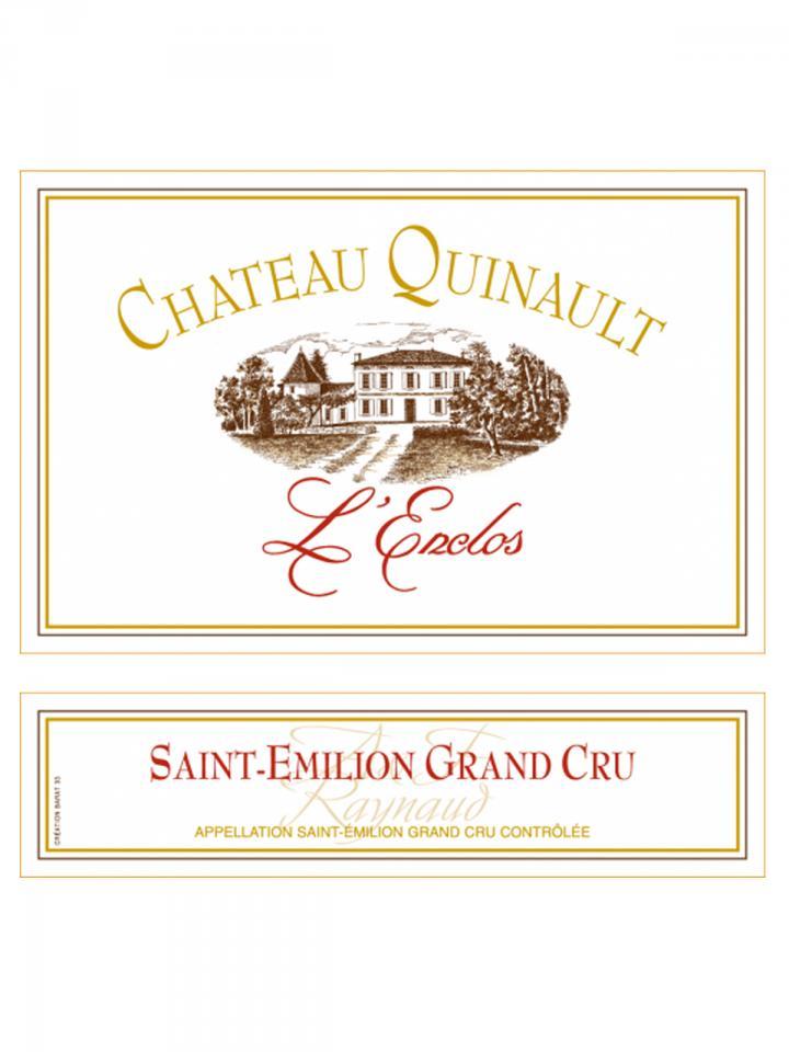 Château Quinault L'Enclos 2014 Original wooden case of 6 bottles (6x75cl)