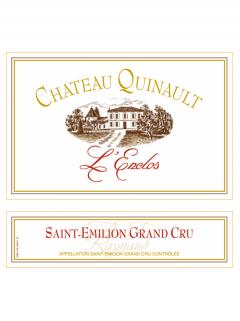 Château Quinault L'Enclos 2015 Original wooden case of 3 magnums (3x150cl)