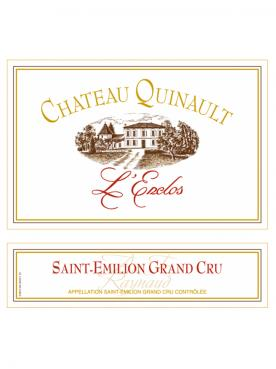 Château Quinault L'Enclos 2019 Original wooden case of one impériale (1x600cl)