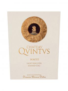 Chateau Quintus 2014 Original wooden case of 12 bottles (12x75cl)