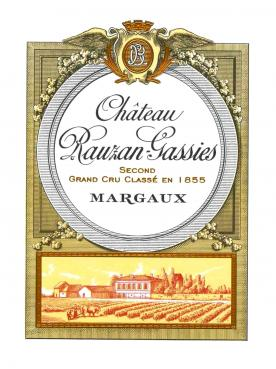 Château Rauzan-Gassies 2008 Original wooden case of 6 magnums (6x150cl)