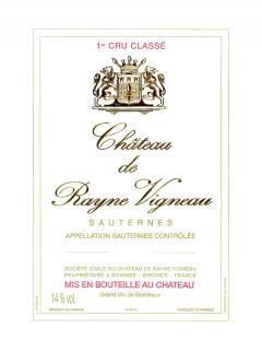 Château de Rayne Vigneau 2005 Original wooden case of 12 bottles (12x75cl)