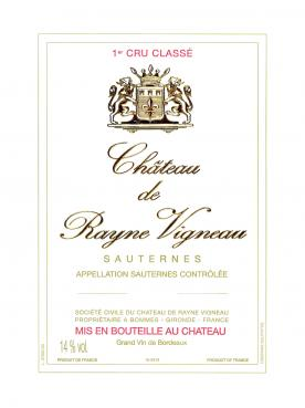 Château de Rayne Vigneau 2006 Original wooden case of 12 bottles (12x75cl)