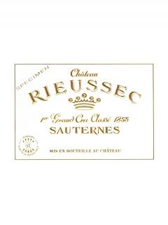 Château Rieussec 2008 Original wooden case of 3 magnums (3x150cl)
