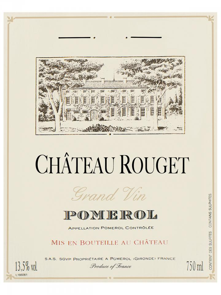 Château Rouget 2013 Original wooden case of 12 bottles (12x75cl)