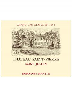 Château Saint-Pierre 2012 Original wooden case of 6 bottles (6x75cl)