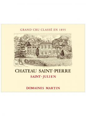 Château Saint-Pierre 2016 Original wooden case of 6 bottles (6x75cl)