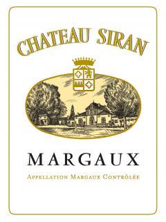 Château Siran 2014 Original wooden case of 12 bottles (12x75cl)