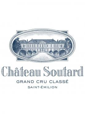 Château Soutard 2018 Original wooden case of 6 bottles (6x75cl)