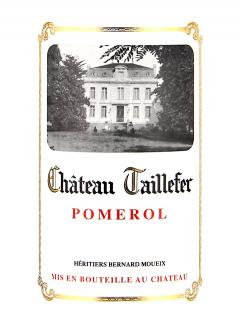 Château Taillefer 2016 Original wooden case of 12 bottles (12x75cl)