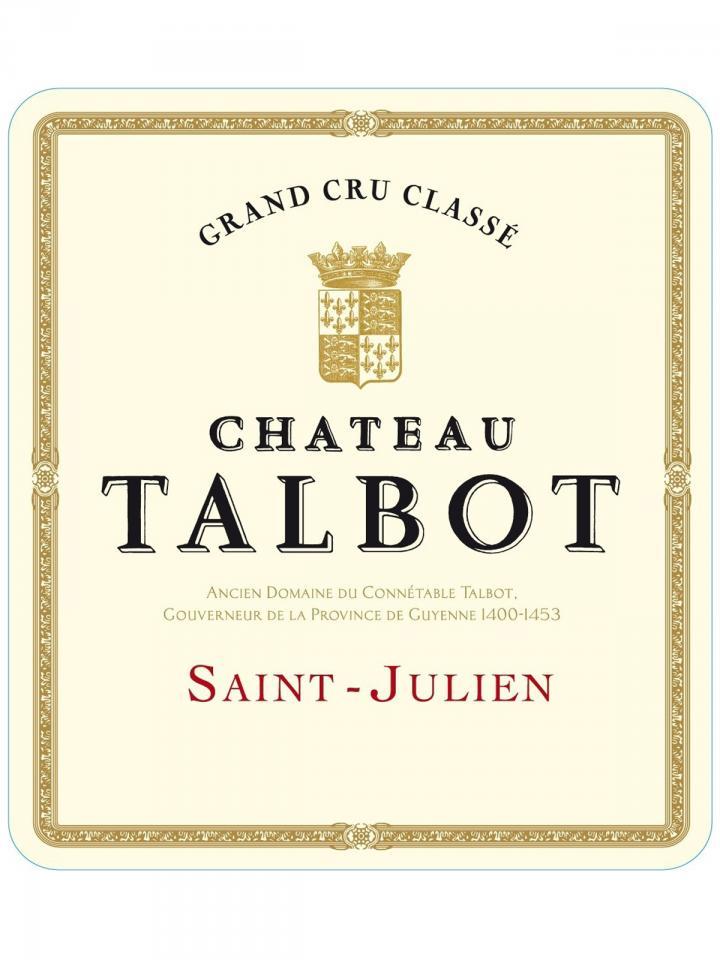 Château Talbot 2014 Original wooden case of 12 bottles (12x75cl)