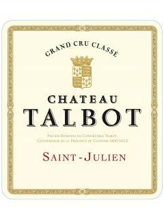 Château Talbot 1982 Bottle (75cl)