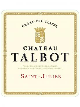Château Talbot 1995 Original wooden case of 12 bottles (12x75cl)