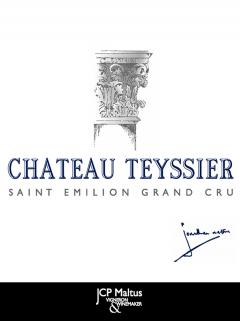 Château Teyssier 1960 Original wooden case of 12 bottles (12x75cl)