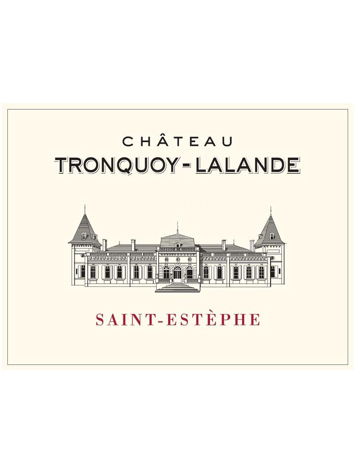 Château Tronquoy-Lalande 2015 Original wooden case of 6 bottles (6x75cl)