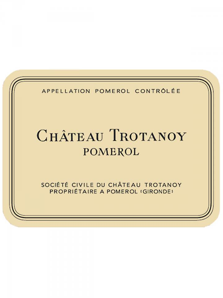 Château Trotanoy 2009 Original wooden case of 6 bottles (6x75cl)