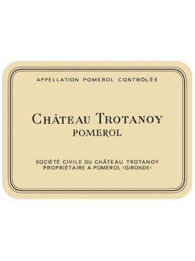 Château Trotanoy 1986 Original wooden case of 12 bottles (12x75cl)