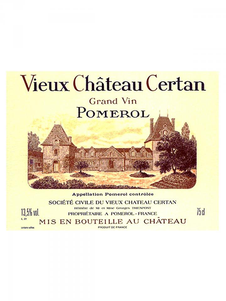 Vieux Château Certan 1979 Bottle (75cl)