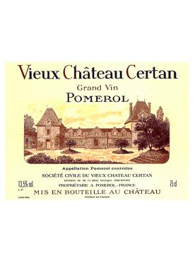 Vieux Château Certan 2015 Original wooden case of 1 bottle (1x75cl)