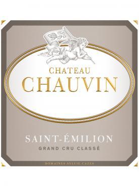 Château Chauvin 2018 Original wooden case of 6 bottles (6x75cl)