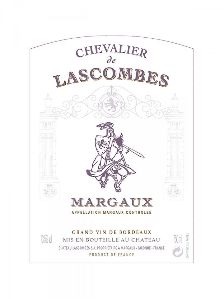 Chevalier de Lascombes 2016 Original wooden case of 12 bottles (12x75cl)