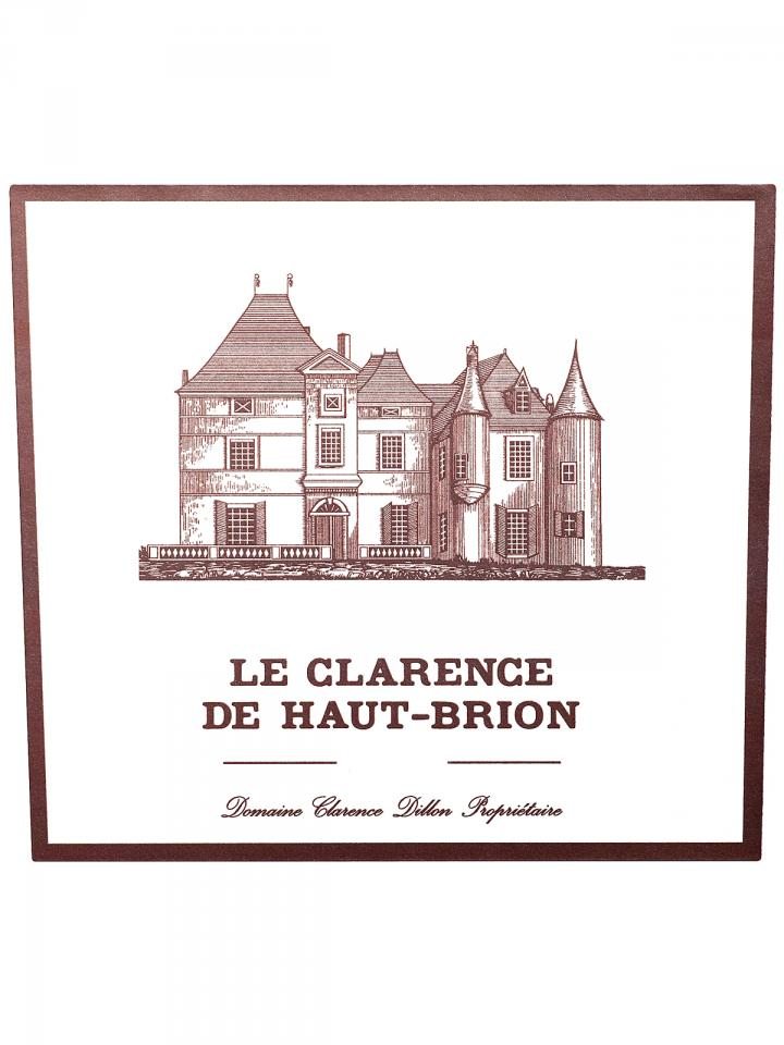 Le Clarence de Haut-Brion 2010 Original wooden case of 6 bottles (6x75cl)